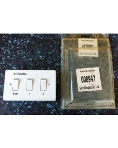 Dimplex AC0001 Remote Control Switch for AC3 and AC45 air curtains