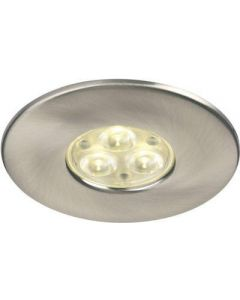 Collingwood Halers DL/BA/F/NW H2 NON-dimmable 240V LED IP65 Fire-rated Downlight Brushed Aluminum 4000K