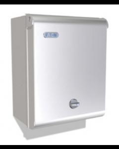 Eaton MEM Memera EAS10S 10 Way Metal Consumer Unit 100A DP Isolator