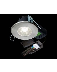 Collingwood DLT4286500 Downlight, H2 Pro 550 CS LED Fire Rated, Dimmable 65Deg IP65, Size:6.4W