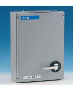 Eaton MEM 100KXTNC2F Exel 2 Switchfuse, 100A, TPN c/w Fuse Links