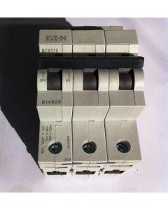 Eaton MEM MDH306 6A TP Type D MCB Memshield 2