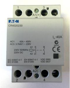 Eaton MEM CR4020230 40A 2 Pole Contactor 230V AC/DC
