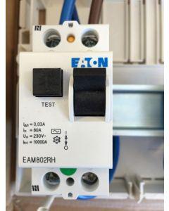 Eaton MEM EAM802RH 80A 30mA DP RCCB