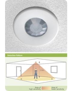 CP Electronics EBDSPIR-PRM Ceiling Mounted PIR Presence Detector (EBDSPIR-PRM)