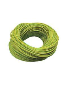 Norslo 5.0mm PVC Sleeving ES5 Green/Yellow
