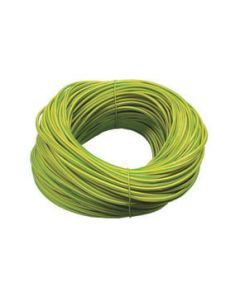 Norslo 10.0mm PVC Sleeving ES10 Green/Yellow