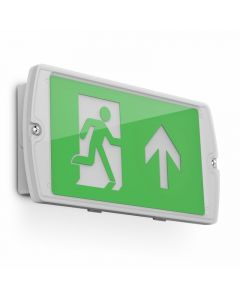 Kosnic ESGN02-PSR Manot, Exit Sign Right - Buy online from Sparkshop