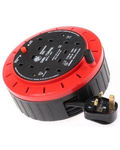 Schneider JJR4513, SM 13A, Cable Reel, 4 Socket Cassette