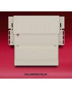 Wylex FALNMISS7SLM Consumer Unit, 7 Way Skeleton AM3 Dual RCD, c/w Flexible Main Switch