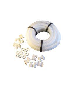 SWA FCP25W-PK10-E 25mm Flexible Economy 10m Pack, Polypropylene White