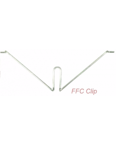 SWA FFC4 FireFly Safety Internal Clips for Plastic Trunking 40mm x 25mm (Box of 100)