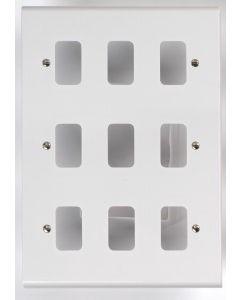 Deta G3307 9G White Grid Plate