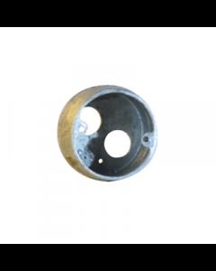 Galvanised 20mm Loop-In Box 1 Hole
