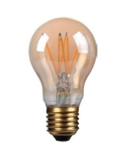4W LED Filament GLS lamp, E27, Gold finish, 20000hrs, 2700K