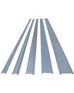 SC13M 13mm Steel Channel, 2m Galvanised