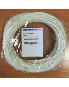 HellermannTyton GSS4, Glass Braided Sleeving, Bore 4mm, Coil 25m