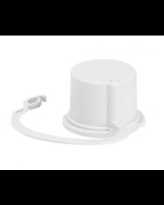 Gewiss GW60264 Watertight Cap for 16A 3P+E  Appliance Inlet, White