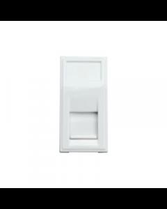 Hager Sollysta WMMBTM White Moulded BT Telephone Master Euromodule