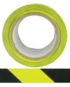 HTY HAZARD TAPE YELLOW / BLACK- ADHESIVE 50MM x 33M - Buy online from Sparkshop