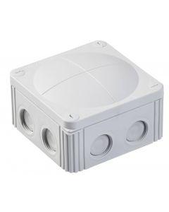 Wiska 10061778 Combi  607/5 Junction Box Inc. 5 Pole IP67, 41A Grey Polypropylene