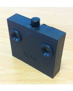 Jeani 142 Door Switch, Surface, Push to Break, 1A, Black