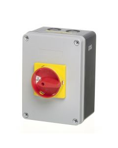 Europa Components LB634P 63A 4 Pole IP65 Enclosed Rotary Isolator (Insulated Enclosure) - buy online from SparkShop