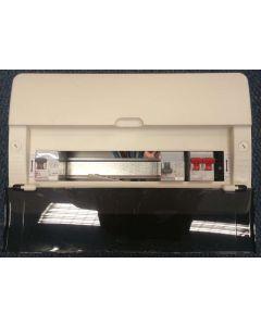 Legrand 607554 10W Dual RCD Insulated Consumer Unit