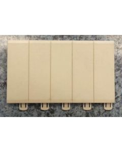 Legrand 607589 Blanking Plate, 5 module