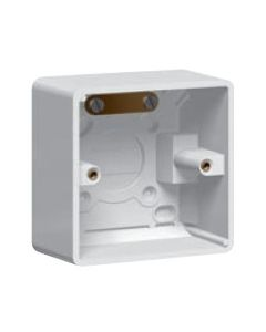 Legrand Synergy 736407 1G Plastic Surface Mounting Box, 50mm