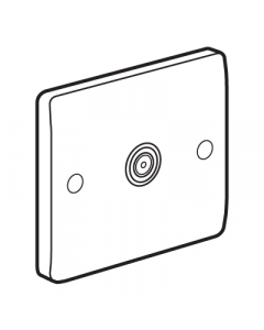 Legrand Synergy 730052 Flex Outlet Plate