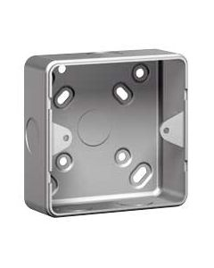 Legrand Synergy 736400 1G Metal Surface Mounting Box with knockout
