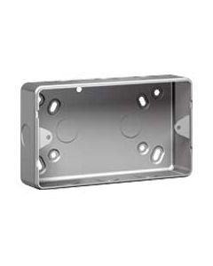 Legrand Synergy 736401 2G Metal Surface Mounting Box with knockout