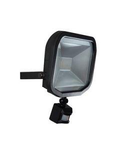 Luceco LFSP30W1B Slimline Guardian LED Floodlight with PIR 30W IP44 1800lm