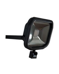 Luceco LFSP50W1B Slimline Guardian LED Floodlight with PIR 50W IP44 3000lm