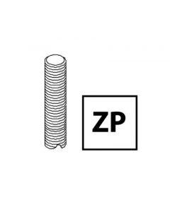 Unistrut Channel M10X3MZP, Threaded Rod, Size: M10x3m