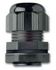 M25DB Compression Gland 25mm 13-18mm Black