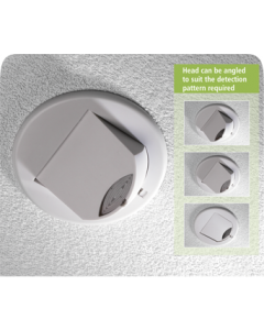 CP Electronics MWS3A-PRM Adjustable Ceiling/Wall Mounted Microwave Presence/Absence Detector (MWS3A-PRM)