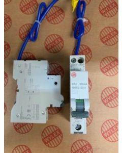 Wylex NHXS1B10 RCBO, SP&N Single Module B Curve, Size: 10A 30mA