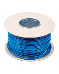SBL3D Earth Sleeving 3mmx100m Blue PVC - Buy online from Sparkshop
