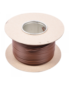 SBR3D Earth Sleeving 3mmx100m Brown PVC - Buy online from Sparkshop