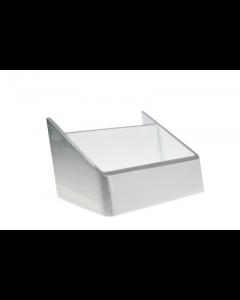 Scolmore LED310WHAL 4.5W 240V Cool White LED Wall Light Aluminium