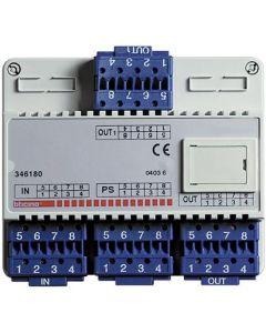 Terraneo/Bticino 346180 Repropagator Audio/Video Distribution Block