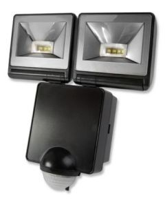 Timeguard LED200PIRB 2x 8W LED Energy Saver PIR Floodlight - Black