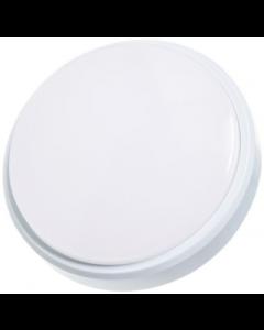 Timeguard LEDSR12WH 12W Slimline LED Energy Saver IP54 Round Wall/Ceiling Light IP54 White