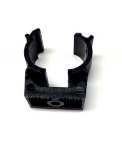 Mita UK25B Conduit fixing clips CLIC Self Locking for Rigid Conduit 25mm Black
