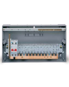 GE Energy VC9 100A Insulated Split Load Consumer Unit 9 Way