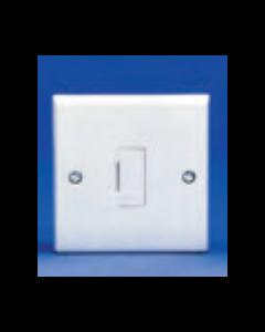 Volex Accessories VX1090 13A Unswitched Fused Connection Unit with Flex Outlet
