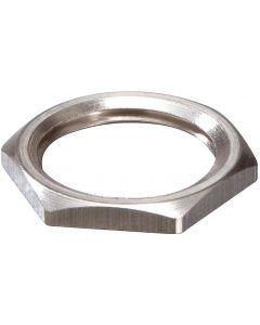 Wiska 10063142 EMMU 16 Nickel Plated Brass Locknut 16mm